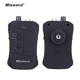 Micnova MQ-VTC Trigger with Motion Triggering Mode Lightning Triggering Mode Sound Triggering Mode for Canon DSLR Cameras