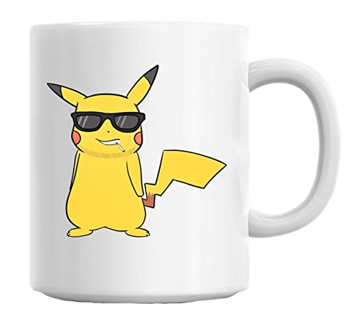 Pokemon-Pikatchu-Swag-Glasses-Mug-Cup