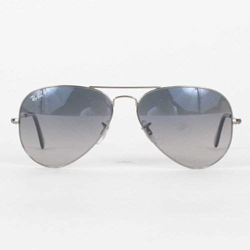 Ray-Ban - RB3025 Sunglasses Gunmetal Crystal Polar Blue Grad.Gray 004/78