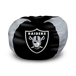Oakland Raiders NFL Team Bean Bag by Northwest (102 Round) by Northwest