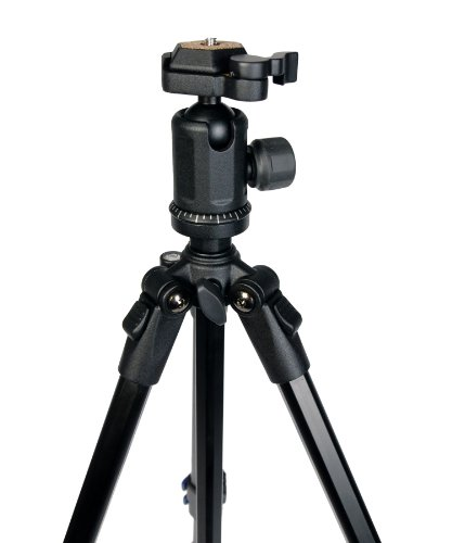 Hahnel Triad 30 Lite Professional Aluminium Alloy 4-Section Tripod with 360º Quick Release Ball Head and Free Carrying Case