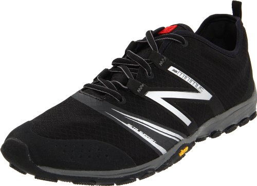 New Balance New Balance Men's MT20v2 Minimus Trail-Running Shoe,Black/Silver,10.5 D US