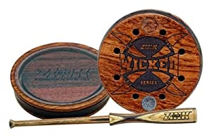 Wicked Series ~ Crystal Acrylic Stabilized Custom Wood Pot ~ Zink Calls ~ Turkey... by Zink