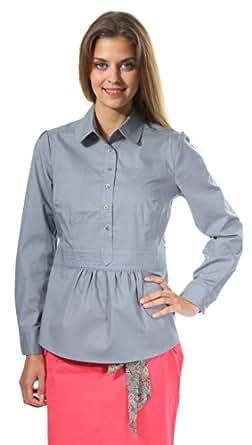 nife damen bluse grau k23r38js gr konfektionsgroesse 38. Black Bedroom Furniture Sets. Home Design Ideas