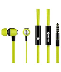 Candy Tech In Ear Wired Earphones With Mic - Gree