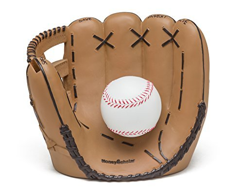 Baseball Coin Bank - Coin Bank for Boys - Teach Financial Literacy for Kids - Perfect Kids Money Bank - Piggy Bank of the Future