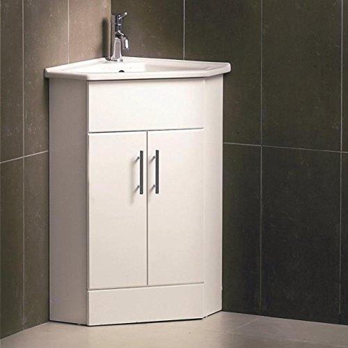Trueshopping nvc180   mobile per il bagno porta lavandino angolare ...