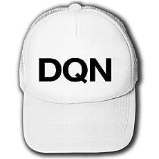 【ドキュン!】レッテルシリーズ DQN キャップ(ホワイトxホワイト)