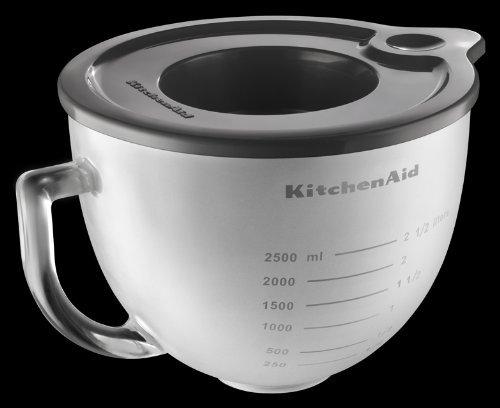 Kitchenaid 5-Quart Glass Bowl Frosted