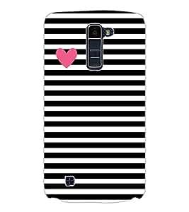 Axes Premium Designer Back Cover for LG K10 (-d998