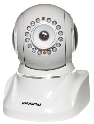 Polaroid IP300W wireless IP Network Security Camera, Pan and Tilt, IR-cut Filter, White - 6 Pack