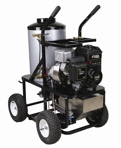 Simpson King Brute KB3030 3,000 PSI Briggs & Stratton Gas/Diesel Powered Hot Water Heavy Duty Pressure Washer