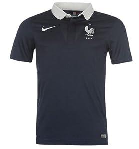 Equipe de France FFF Maillot de Football Domicile Officiel de la Coupe du Monde 2014 (x-Large)