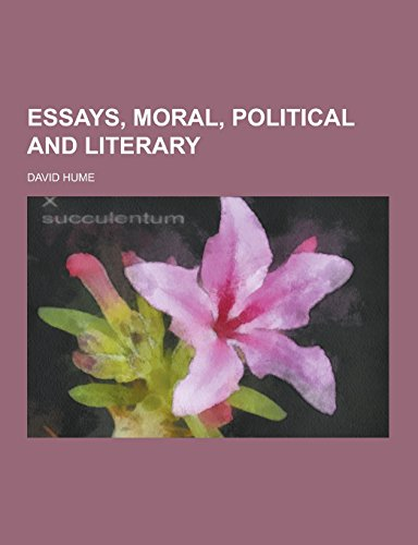 essays moral and political hume