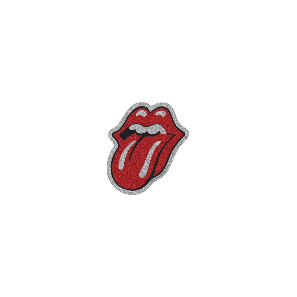 Licenses Products Rolling Stones Tongue Glitter Sticker