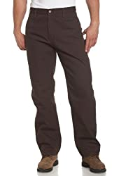 Carhartt Men's Washed Duck Work Dungaree Utility Pant B11,Carhartt Brown,x