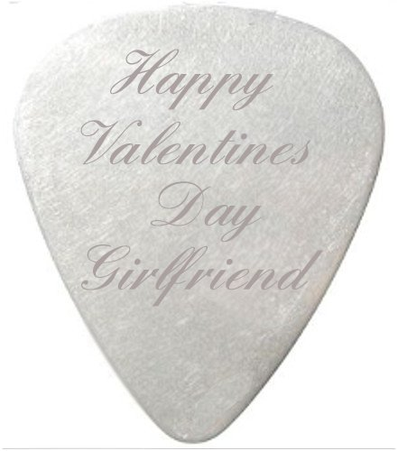 Happy-Valentines-Day-Greeting-Plektrum-mit-Geschenktschchen-aus-schwarzem-Samt