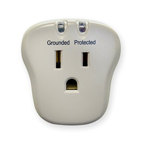 Surge Protector, 1 Outlet,