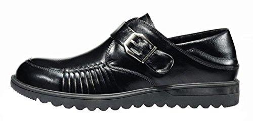 INDEX Men's Business Oxfords Buckle Shoes