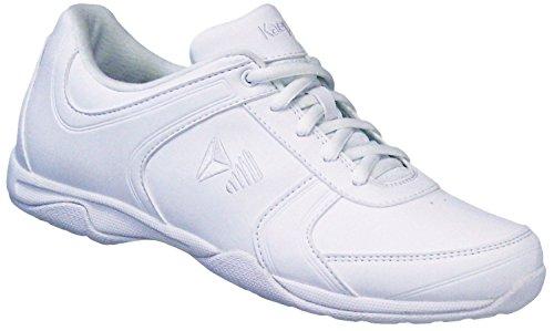 Kaepa Spark Cheer Shoe (Pair), White, 5