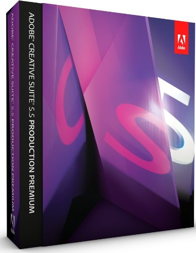 Adobe Creative Suite 5.5 Production Premium, Upgrade from any CS2 / CS3 Suite, Studio 8, Production Studio (PC)