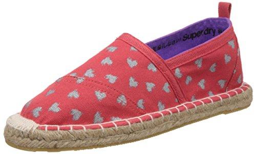 Espadrillas Superdry Coral 37 Rosso