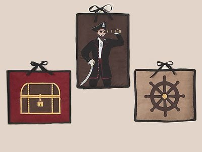 Treasure Cove Pirate Wall Hanging Accessories by JoJo Designs