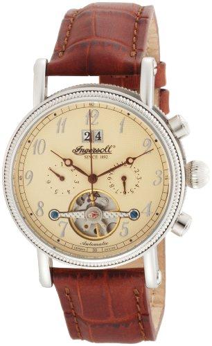 Ingersoll Men's IN1800CR Richmond Automatic Cream Dial Watch