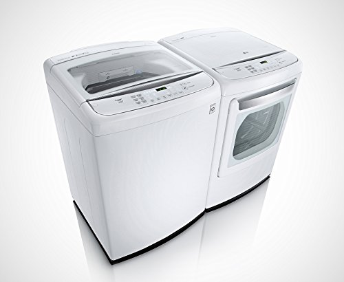 LG POWER PAIR SPECIAL-Mega Capacity High Efficiency Top Load Laundry System with GAS Dryer *Pure White* (WT1701CW_DLGY1702W) (Washing Machine And Gas Dryer compare prices)