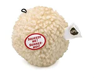 Ethical Fleece Ball 4-Inch Dog Toy