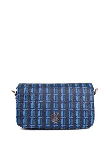 Tory Burch Tory Burch Robinson Adjustable Chain Mini Bag in Deep Sea