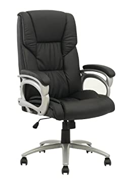 Best Desk Chairs New High Back Executive Leather Ergonomic Office Chair w Metal Base O