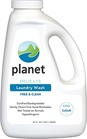 Planet Delicate Laundry Wash, 32 Fluid-Ounce Bottles