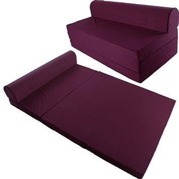 Sof cama colch n plegable 200x120 cama plegable para for Sofa cama individual plegable