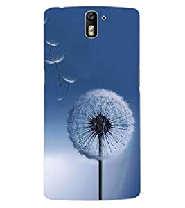 ColourCraft Amazing Flower Design Back Case Cover for OnePlus One
