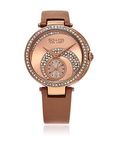 So&Co New York Uhr mit japanischem Quarzuhrwerk Woman GP16102 40 mm