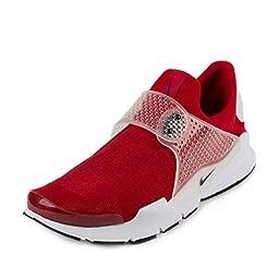 Nike Men\'s Sock Dart Gym Red/Black/White Running Shoe 11 Men US