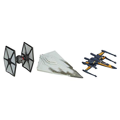 Star Wars The Force Awakens Micro Machines 3-Pack The First Order Attacks - 1
