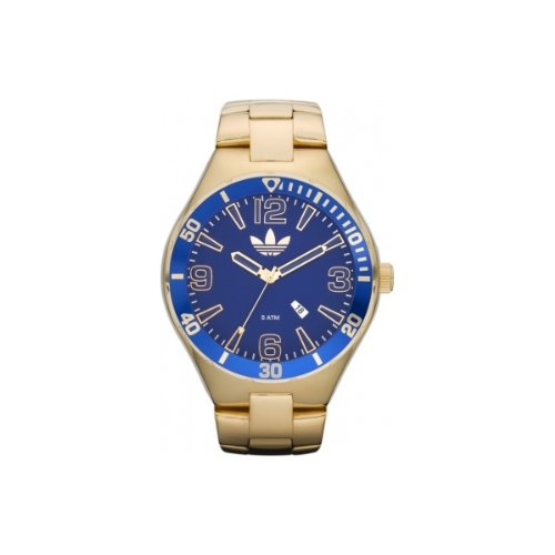 Adidas ADH2682 MELBOURNE Blue Gold Watch