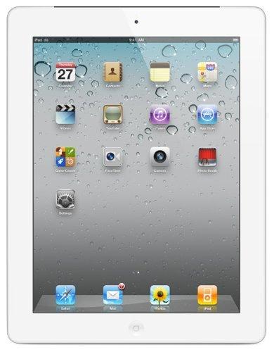 Apple iPad 2 MC981LL/A Tablet (64GB, WiFi, White) 2nd Generation (Certified Refurbished)