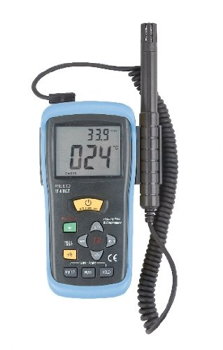 Hygrometer/Infrared Thermometer Reed # ST-616CT