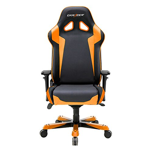 DXRacer-Sentinel-Series-Big-and-Tall-Chair-DOHSJ00-Racing-Bucket-Seat-Office-Chair-Gaming-Chair-Ergonomic-Computer-Chair-eSports-Desk-Chair-Executive-Chair-Furniture-With-Pillows