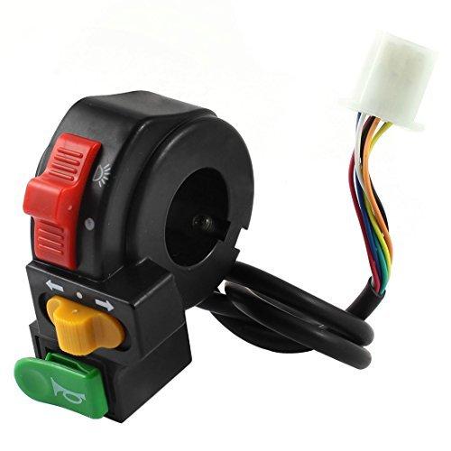 Dimart Headlight Turn Signal Light Horn Switch Black For Electric Bike