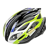 Bicycle Helmet FJQXZ Integrally-molded EPS+PC Green Cycling Helmets (21 Vents)