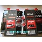 4 x Zippo Benzin + 2 x Zippo Flints +...