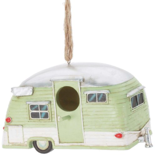 Fun And Unique Mother's Day Gift Idea Guide For Camping Moms - Spoontiques Trailer Birdhouse
