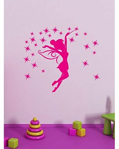 Ambience Live Vinilo Decorativo Little fairy  Fuschia