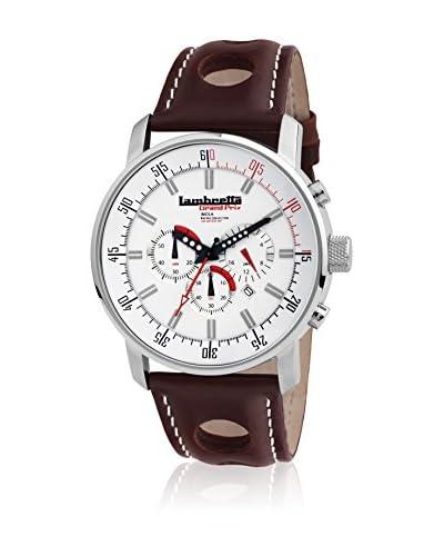 Lambretta Watches Orologio al Quarzo Imola Leather White  46 mm