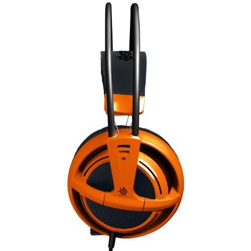 SteelSeries Siberia v2 Full-size Headset (Orange) 51106の写真02。おしゃれなヘッドホンをおすすめ-HEADMAN(ヘッドマン)-