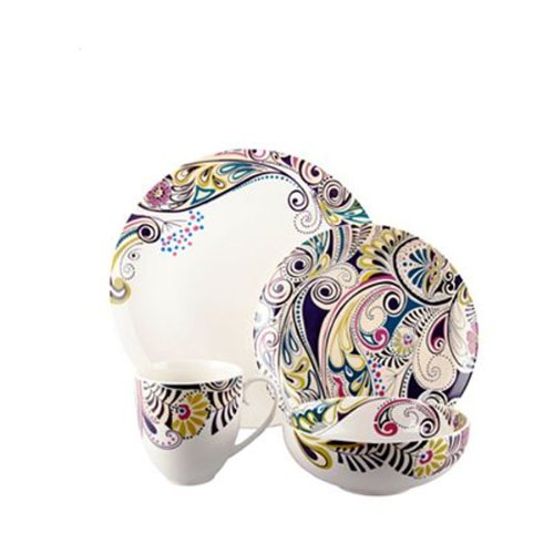 Denby Monsoon Cosmic 4-piece Place Setting